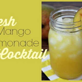 Fresh Mango Cocktails Recipes.