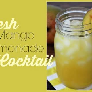 Fresh Mango Cocktails Recipes.
