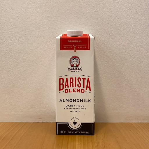Califia Almond Milk Barista Blend