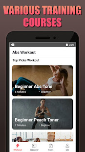 App Abs Workout - Home Workout, Tabata, HIIT APK for Windows Phone