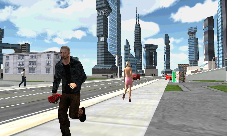 Crazy Crime City USA- screenshot