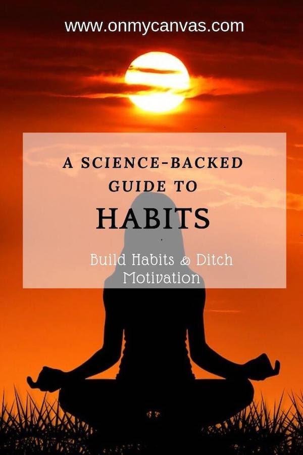 habit guide pinterest image