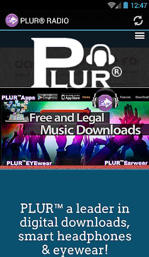 PLUR® RADIO by PLUR headphones