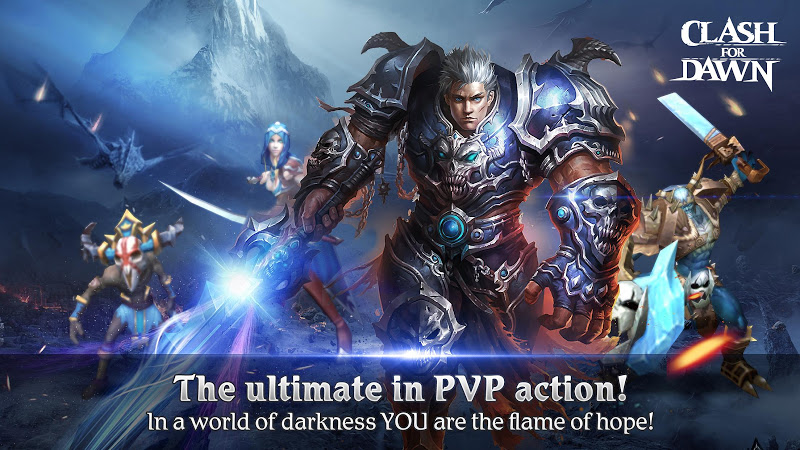 Clash for Dawn: Guild War v1.6.5 (Mod)