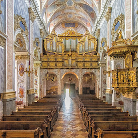 Gottweib Abbey by Graeme Hunter - Buildings & Architecture Places of Worship