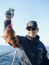 Photo: ニシゾノさんも アラカブ。