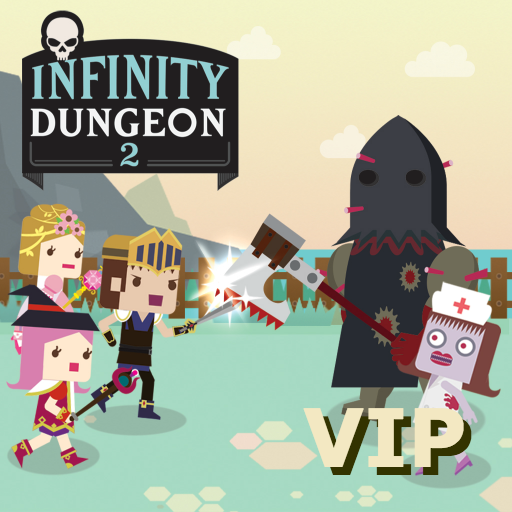 Infinity Dungeon 2 VIP - Summon girl and Zombie Spel (APK) gratis nedladdning för Android/PC/Windows
