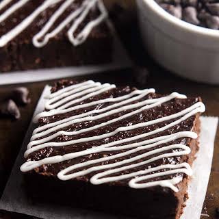Fudgy Peppermint Mocha Brownies.