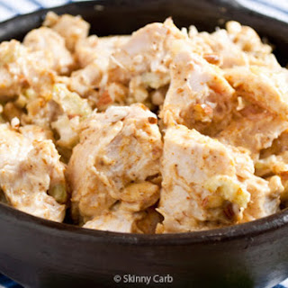Low Carb Chicken Curry Salad