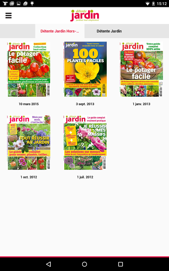 D tente jardin le magazine android apps on google play for Jardin google translate