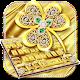 Gold Diamond Leaf Keyboard (app)
