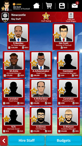 Club Soccer Director 2019 - Soccer Club Management 2.0.25 screenshots 3