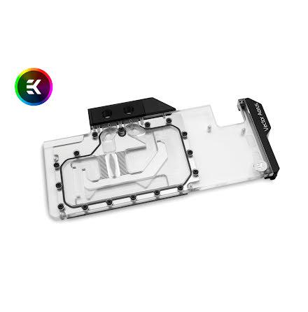 EK vannblokk for skjermkort, EK-Vector Aorus RTX 2080 Ti RGB - Nickel + Plexi