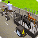 Pet Dog ATV Trolley Cargo Transport icon