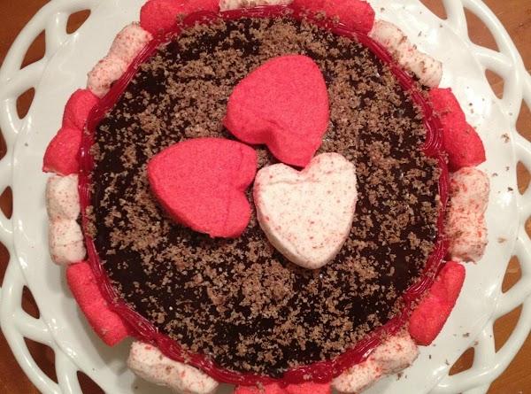 Dark Chocolate Heart Cake Recipe