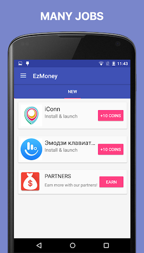 EzMoney: Make money on mobile