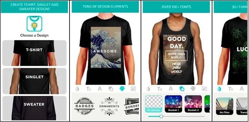 Design Clothes - Shirt Designer & Clothes Designer t-shirt design