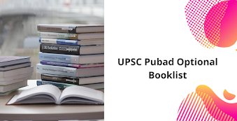 Public Administration Optional Booklist for UPSC IAS Mains