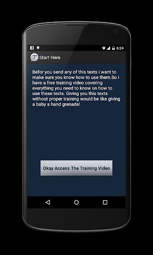Texting Girls Guide Pro screenshot 3