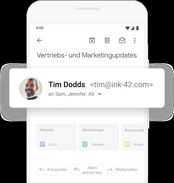 Gmail für Unternehmen