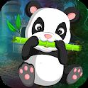 Best Escape Games 109 Guzzle Panda Rescue Game icon