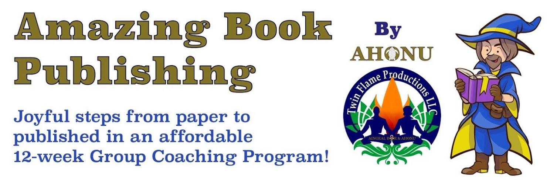 Book Publishing by Ahonu - Joyful Steps To Published!