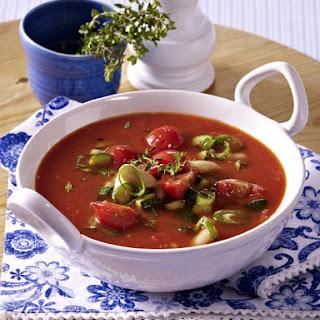 Mediterranean Tomato Soup