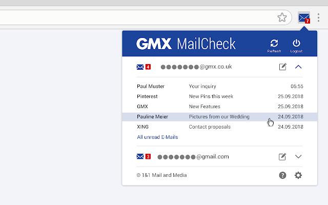 Www gmx at login