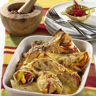 Chicken Quesadilla Bake.