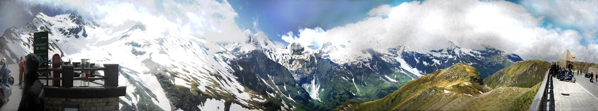 Photo: Blick auf das Groß Glockner-Panorama