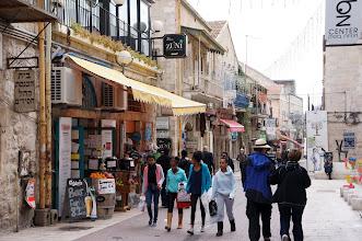 Photo: Shopping on Yoel Moshe Salomon Street