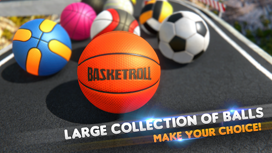 BasketRoll: Rolling Ball Game 8