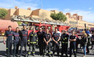 Día de Puertas Abiertas de los Bomberos de Almería