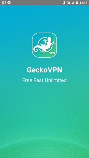 GeckoVPN Free Fast Unlimited Proxy VPN 1.0.5 screenshots 1