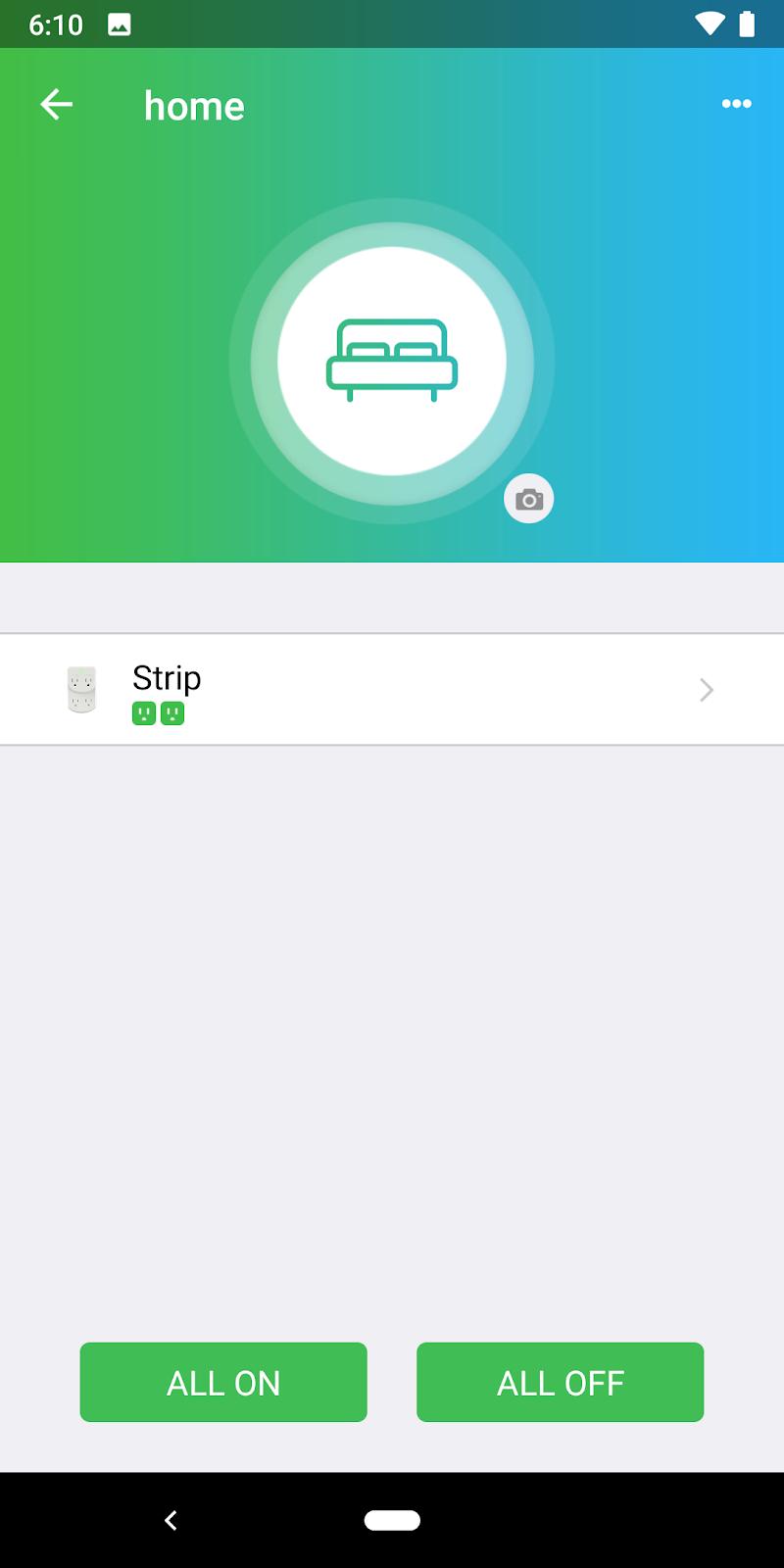 Скриншот CyberPower SmartPlug