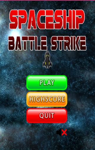 Spaceship Thunder War Strike