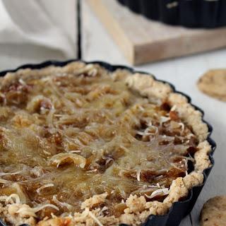 Swiss Onion Sage Tart