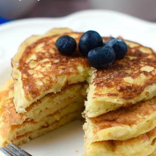 Easy Yogurt Pancakes.