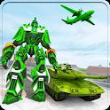 Robot Transform Plane Transporter Free Robot Games icon