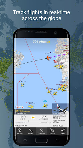Flightradar24 Flight Tracker 7.4.1 screenshots 1