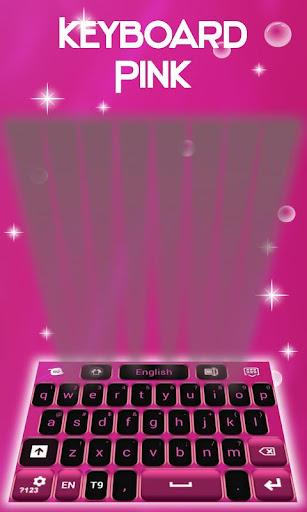 無料个人化Appのキーボードのテーマピンク|記事Game