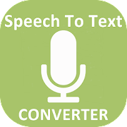 Speech to Text Converter with Speech Recognizer