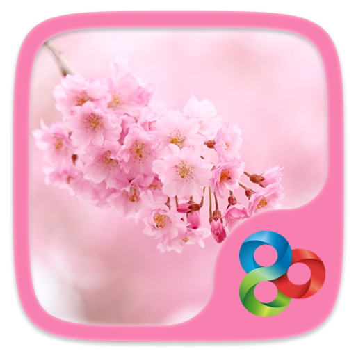 Flowers GO Launcher Theme