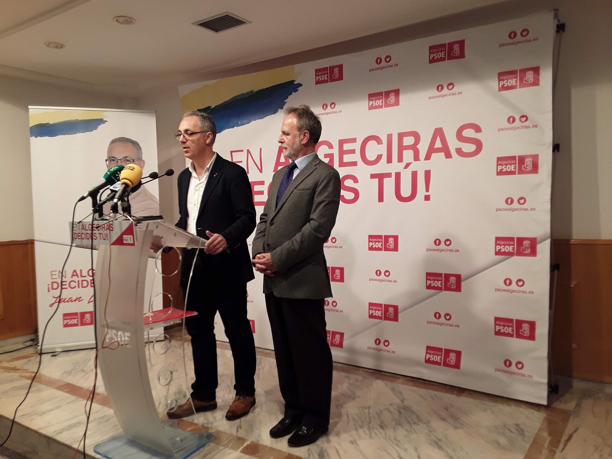 Lozano lamenta las terribles consecuencias que tendrá para los campogibraltareños el rechazo de los Presupuestos Generales