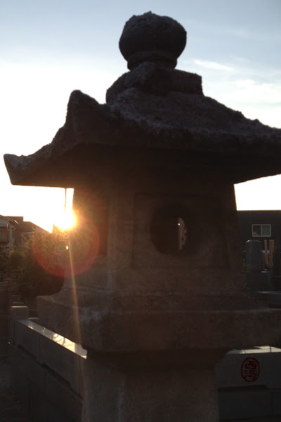 Photo: #216 - Lantern at Sunset