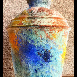 A vase of many colors by Morris Fremar - Instagram & Mobile iPhone