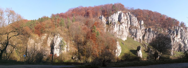 Photo: BB040373 Ojcow - kolory jesieni