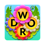 Word Flowers Icon