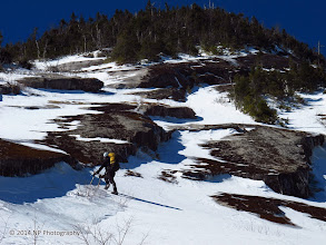 Photo: 350 feet of elevation gain above the base.
