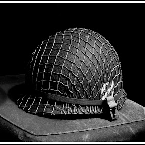 Remembrance by Jebark Fineartphotography - News & Events US Events ( army, memorabilia, monochrome, american, historical, war )